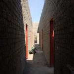 il corridoio alla sinistra dei bagni: secondo pian
