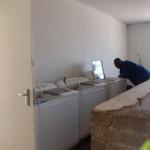 lo spazio per le lavatrici!