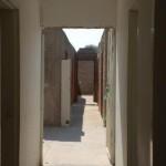 il corridoio alla destra dei bagni: secondo piano